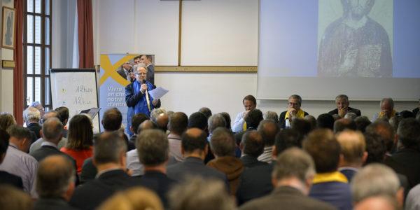 14 octobre 2016 :  Université d'automne des Entrepreneurs et Dirigeants Chrétiens ( EDC ), Paris (75), France.